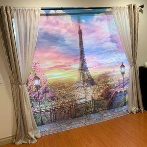 Other - Eiffel Tower, Paris, France Backdrop - 7x7